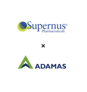 Supernus + Adamas Logo